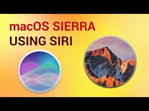 How to Access, Setup and Use Siri on Mac: Siri commands on macOS Sierra