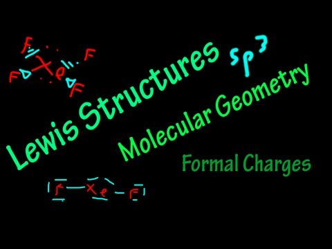 Chem #1: Lewis Structures, Molecular Geometry, Formal Charges.