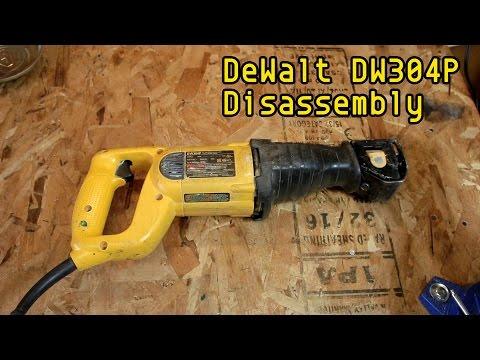 Disasemble a DeWalt DW304P - How to