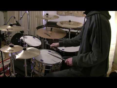 Steve Smith Lick - Drum Licks - The Drum Ninja (Free Drum Lesson)