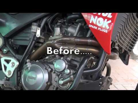 Exhaust cleaning - the easy way