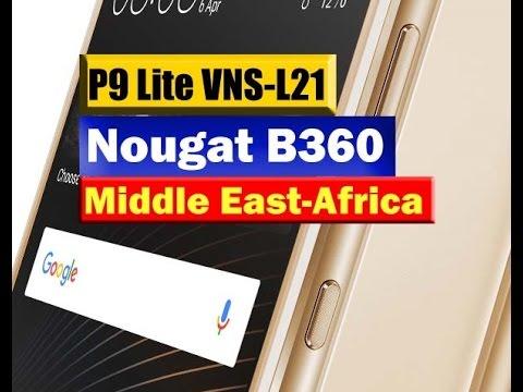 Huawei P9 Lite VNS-L21 Nougta B360 Reveiw