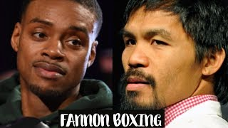 Download ERROL SPENCE CALLS OUT MANNY PACQUIAO | POSITIONED TO BE BOXING'S BIGGEST STAR? Video