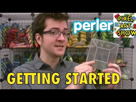 Perler Beads Tutorial: Getting Started - Pixel Art Show