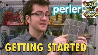 Perler Beads Tutorial: Getting Started - Pixel Art Show