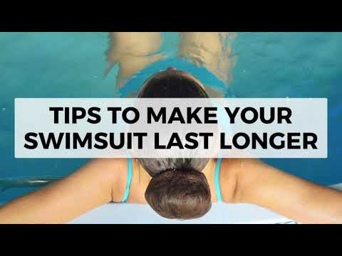 Tips to Make Your Swimsuit Last Longer