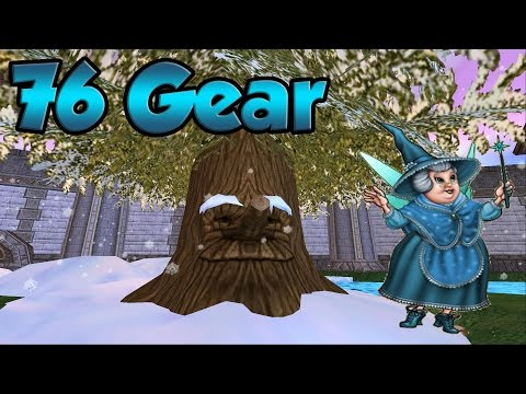 Wizard101: Crafting 76 Ice Gear