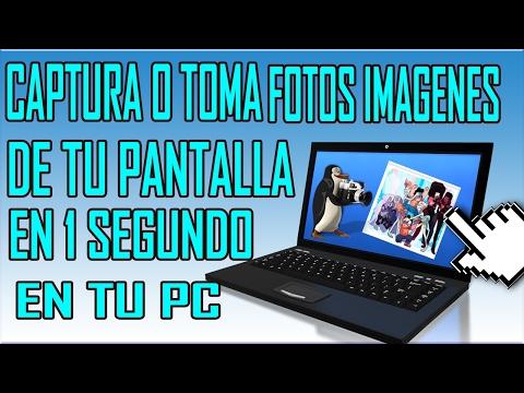 Como Hacer Una Captura De Pantalla En PC En Laptop Windows 10 / 8 / 7