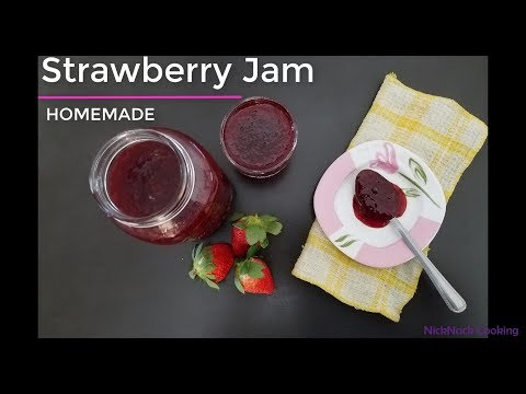 Instant Pot Strawberry Jam | Homemade | without pectin | No Artificial Flavors