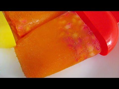Refresh Yourself With Orange Popsicle Recipe By Sameer Goyal @ ekunji.com