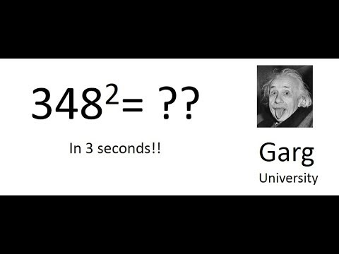 Square any three digit number in Mind