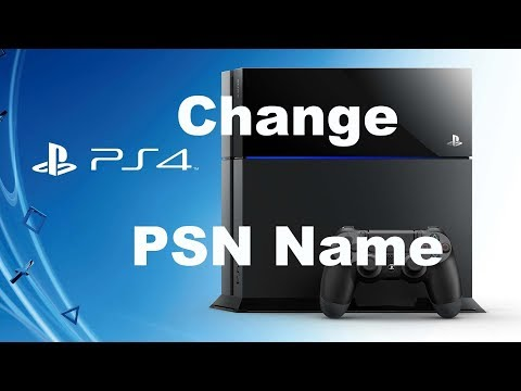 How To Change Psn gamertag