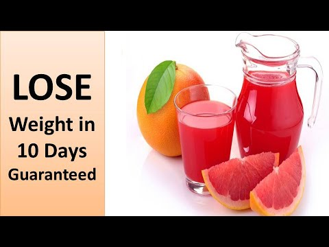 Grapefruit Juice weight loss | Juices for weight loss