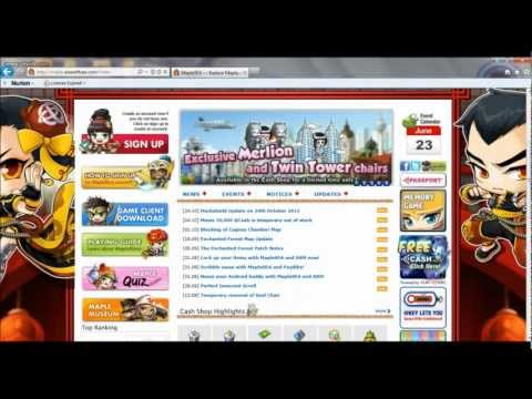 How to register Maplestory account? (For Singaporean and Malaysian players)