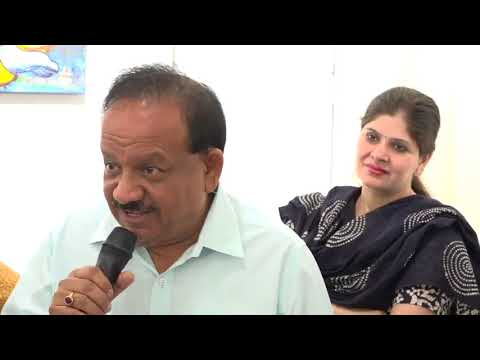 Dr Harsh Vardhan inaugurated a painting exhibition by inmates of Tihar Jail | May 11, 2018