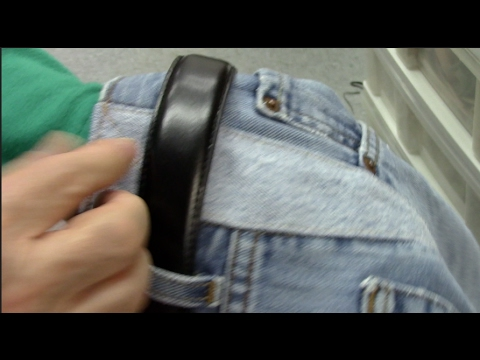 How to Expand the Waist on Blue Jeans