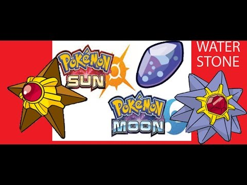 HOW TO CATCH STARMIE IN POKEMON SUN AND MOON