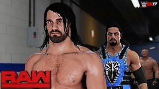 WWE 2K17 Custom Story - Seth Rollins Returns Raw 2017 ft. Styles, Lesnar, Cena, The Shield - PART 17