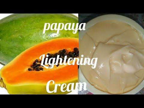 DIY Skin Lightning Papaya Lotion / Brighten and Lighten Skin Using this - Papaya Lightning Lotion