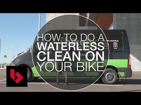 How to do a Waterless Clean of Your Bike