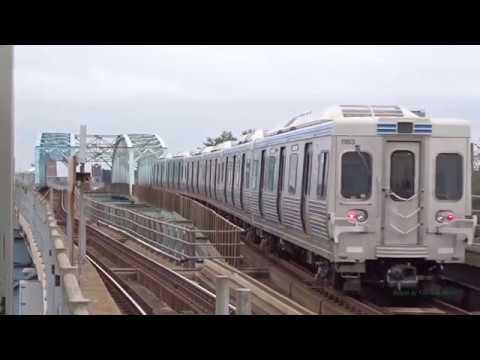 The Subway/Elevated Train in Philadelphia (MarketFrankford Line)