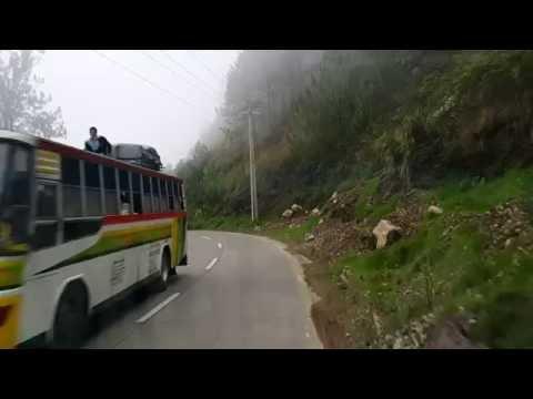 Sagada to Baguio Road