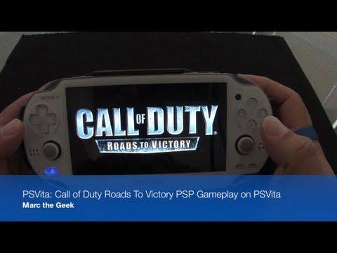 PSVita: Call of Duty Roads to Victory PSP Game on PSVita
