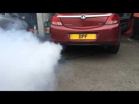 Vauxhall Insignia DPF regeneration after cleaning procedure at www.doncasterdpfcleaning.co.uk