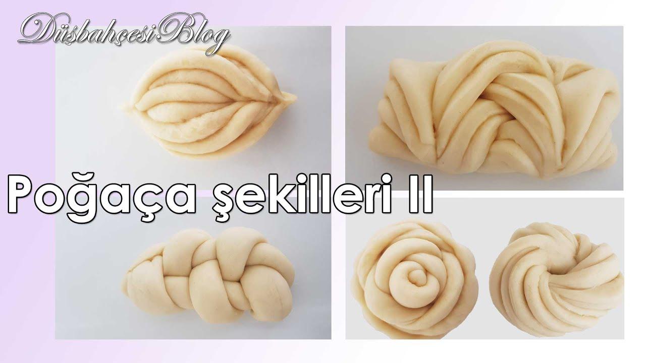 Farklı Poğaça Şekilleri nasıl yapılır 2. bölüm ? - How to make different shape of bread rolls Part 2