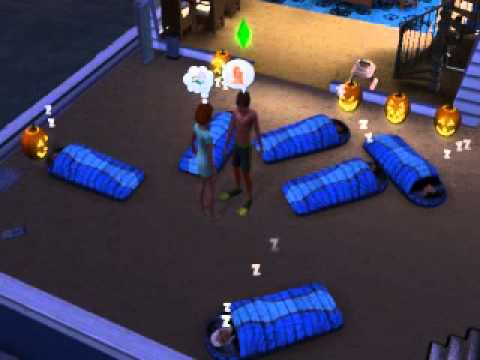 The Sims 3 Generations- Sleeping Bag Fiesta!