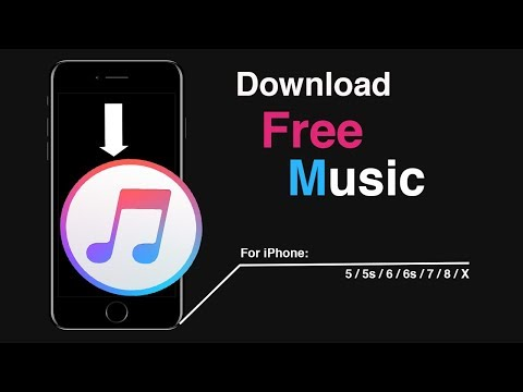 How to Download Music on iPhone 5s/6/6s/7/8/X For FREE
