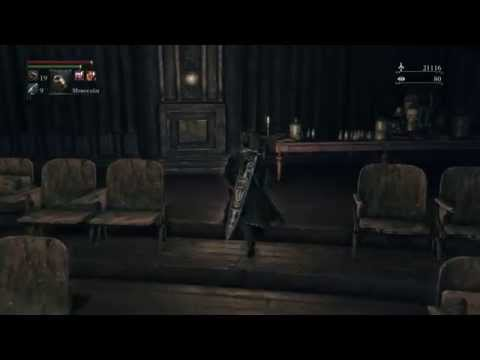 Bloodborne - Lecture Building: Lecture Theatre Key Location, Patches the Heyena / Spider Spotted