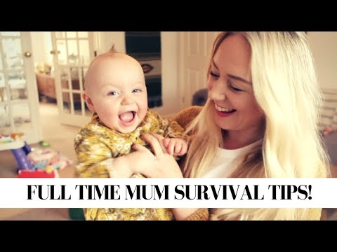How To Enjoy being a full time mum/mom | My Survival Guide!  SJ STRUM