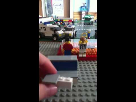 How to make Lego iPod touch holder