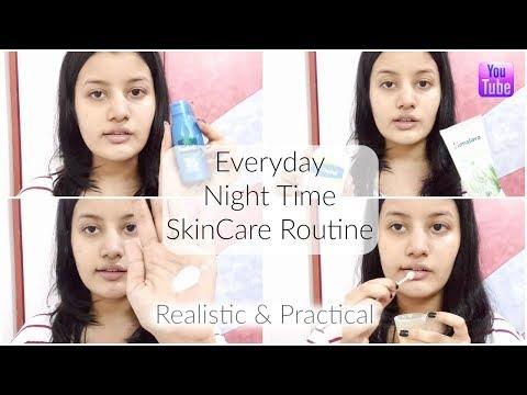 Hindi - My Everyday Night Time SkinCare Routine || Riya Beauty