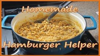Homemade Hamburger Helper Recipe