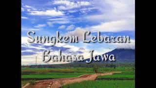 Sungkem Lebaran Bahasa Jawa Simple