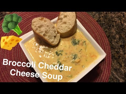 How to Make: Broccoli Cheddar Cheese Soup