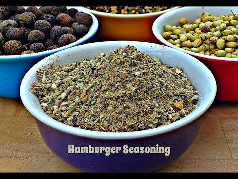 How to Make a Hamburger Seasoning | Episode 92