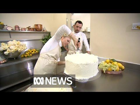 Baking Meghan Markle's royal wedding cake