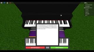 Roblox Piano River Flows Within You Sheet