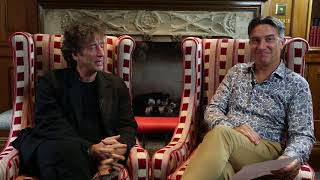 Neil Gaiman and Rob Wilkins in conversation about Good Omens