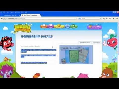 Moshi Monsters Cheats - Get Free Membership & Free ROX