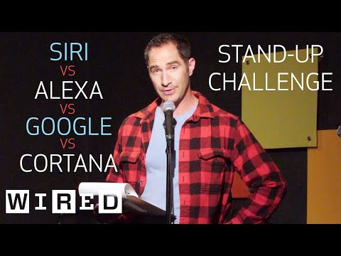Stand-Up Comedy Using Only Siri, Alexa, Cortana and Google Home | OOO with Brent Rose | WIRED