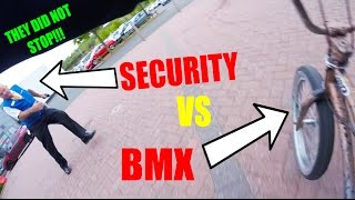 INSANE SECURITY CHASE ON BMX BIKE! *ESCAPE*