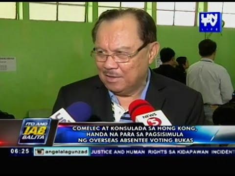 Registered voters list, inilabas na ng Embahada ng Pilipinas sa Canada