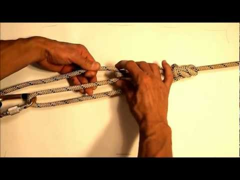How to tension two points together with rope