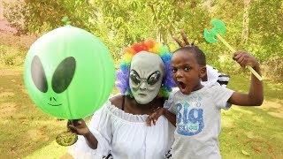 Alien Clown VS Super Siah