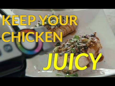 How to Make Juicy Hoisin Chicken | T-fal OptiGrill