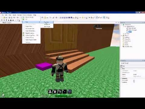 How to make a regen button ROBLOX 2011